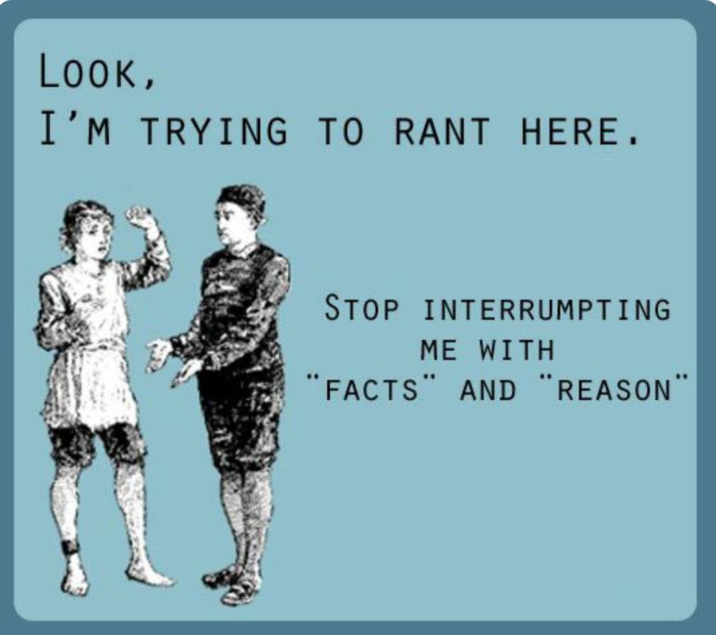 Facebook Rant!